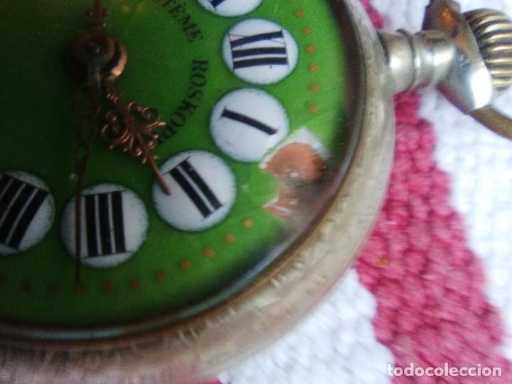 Relojes de bolsillo: RELOJ DE BOLSILLO MARCA ROSKOPF CON UÑERO - Foto 2 - 158280602