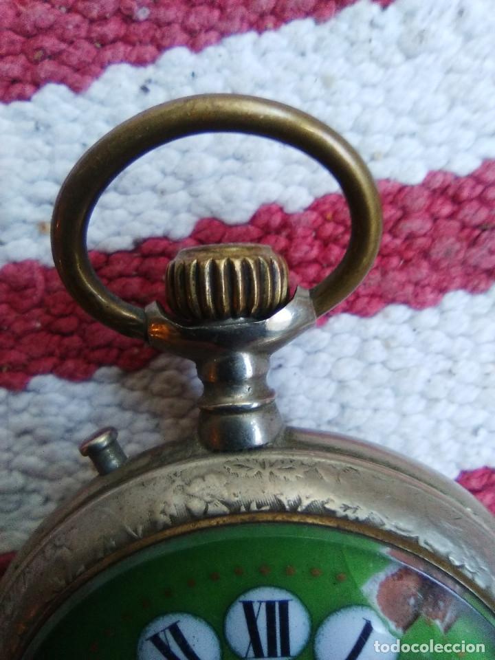Relojes de bolsillo: RELOJ DE BOLSILLO MARCA ROSKOPF CON UÑERO - Foto 5 - 158280602