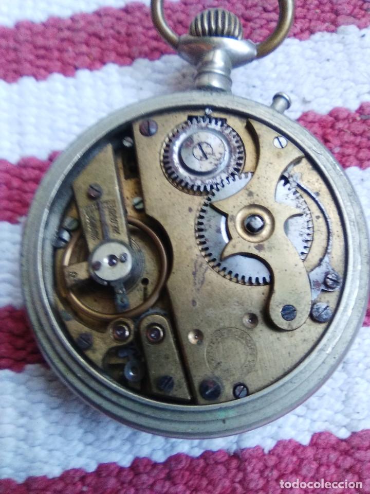 Relojes de bolsillo: RELOJ DE BOLSILLO MARCA ROSKOPF CON UÑERO - Foto 6 - 158280602