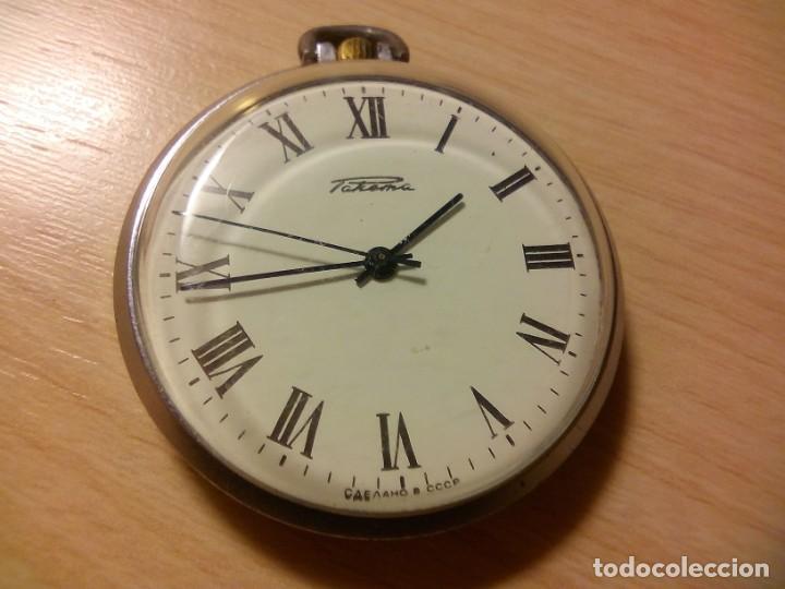 Relojes de bolsillo: RELOJ RUSO RAKETA-PAKETA - Foto 3 - 158549814