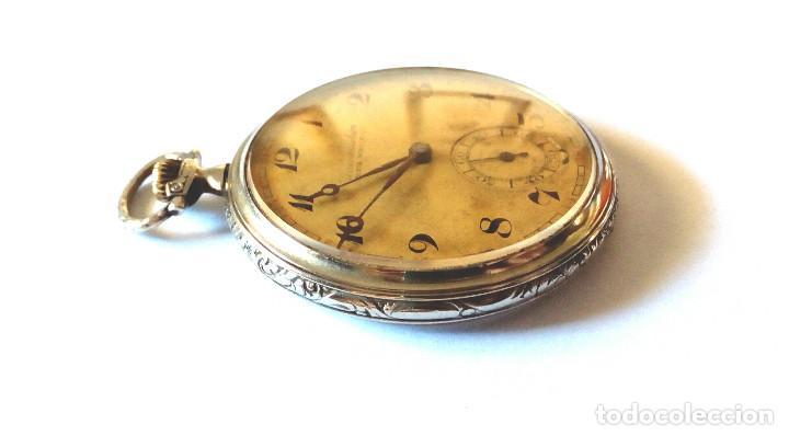 Relojes de bolsillo: RELOJ BOLSILLO FUNCIONANDO DE 1930 - Foto 3 - 176547727