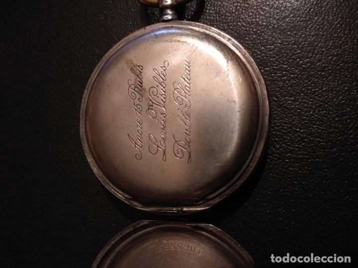 Relojes de bolsillo: Reloj de bolsillo marca SOLA de plata (Funcionando) - Foto 5 - 158698190