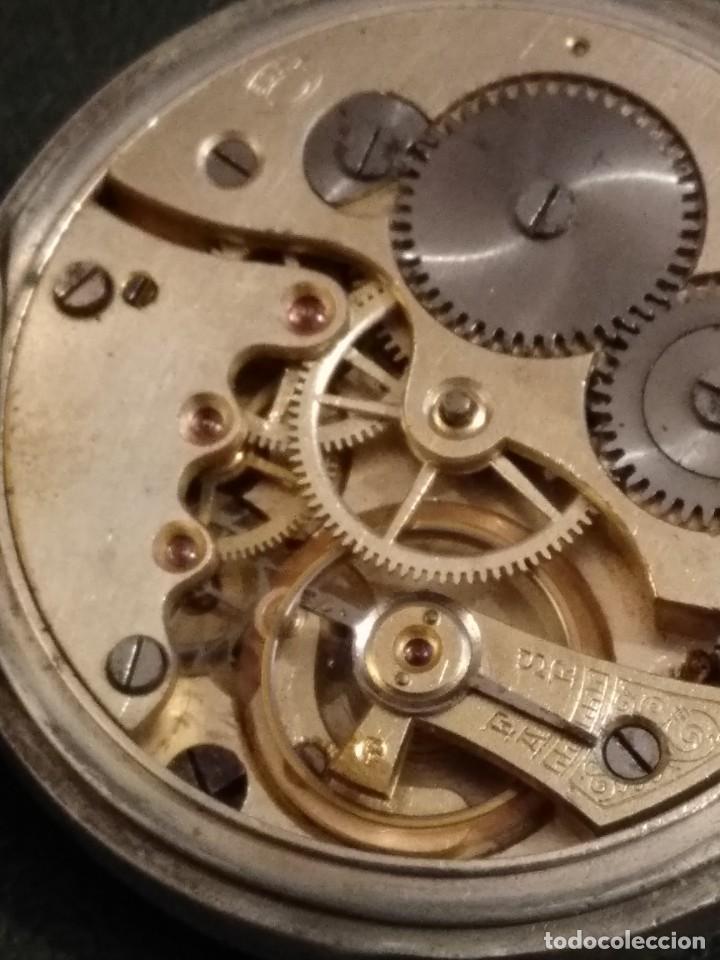 Relojes de bolsillo: Reloj de bolsillo marca SOLA de plata (Funcionando) - Foto 13 - 158698190