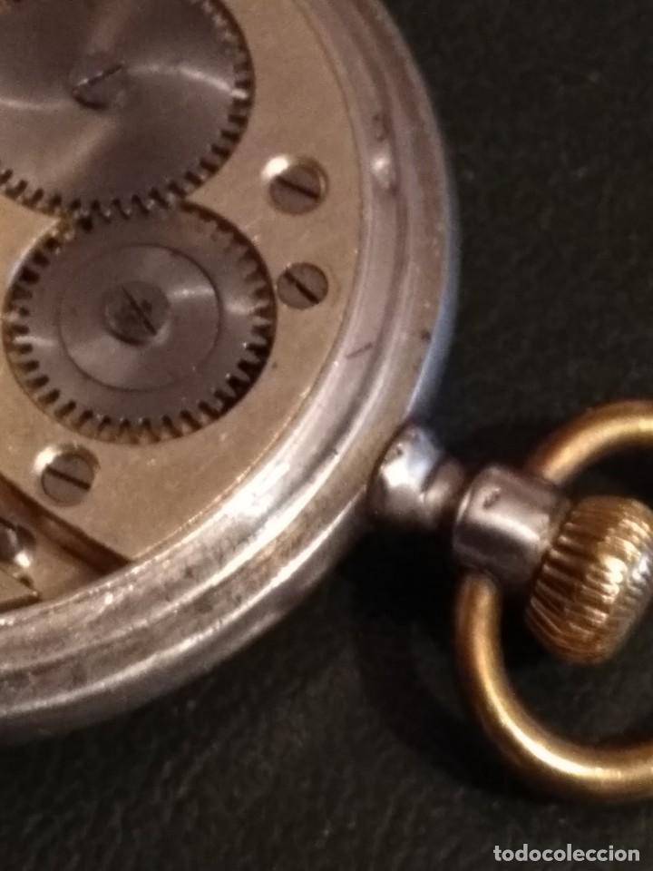 Relojes de bolsillo: Reloj de bolsillo marca SOLA de plata (Funcionando) - Foto 14 - 158698190