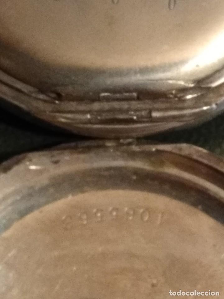 Relojes de bolsillo: Reloj de bolsillo marca SOLA de plata (Funcionando) - Foto 15 - 158698190