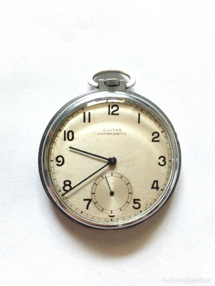 RELOJ BOLSILLO FUNCIONANDO DE 1935 (Relojes - Bolsillo Carga Manual)