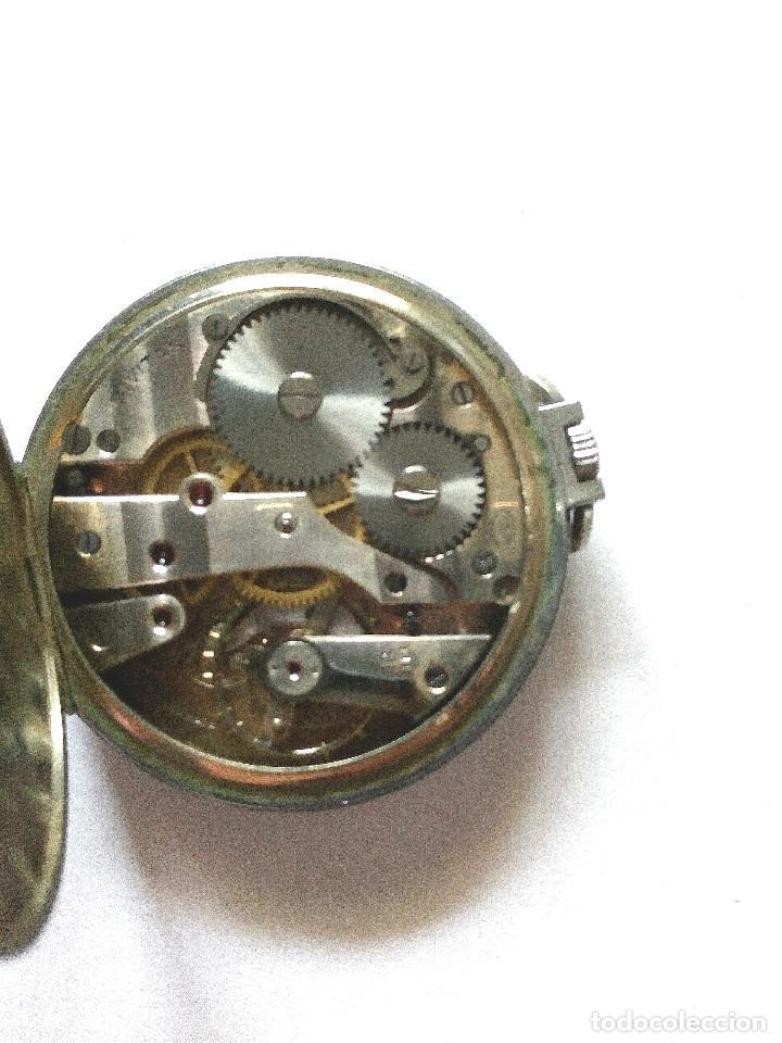 Relojes de bolsillo: RELOJ BOLSILLO FUNCIONANDO DE 1935 - Foto 3 - 158949790