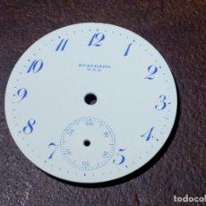 Relojes de bolsillo: ESFERA RELOJ DE BOLSILLO N.Y.STANDARD 16S. Lote 159268302