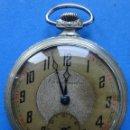 Relojes de bolsillo: INTERESANTE Y ANTIGUO RELOJ DE BOLSILLO FRANCES EN PLATA DE LA MARCA CHRONOMÉTRE PARIS AÑOS 20/30. Lote 159421952