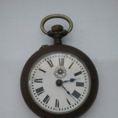 Relojes de bolsillo: RELOJ BOLSILLO ROSKOPF PATENT 6269. FUNCIONA.. Lote 159501389