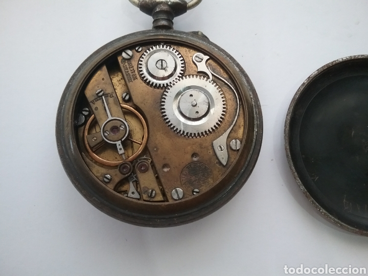 Relojes de bolsillo: Reloj bolsillo Roskopf Patent 6269. Funciona. - Foto 3 - 159501389
