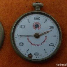 Relojes de bolsillo: RELOJ ANTIGUO * ROSSKOPF & PATENT * SWISS MADE PARA DESPIECE. Lote 159551106