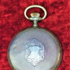 Relojes de bolsillo: RELOJ DE BOLSILLO. PLATA 800/1000. METAL. REF. 19021. SUIZA. FIN SIGLO XIX. Lote 159654162