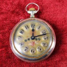 8a7e3826b Admite ofertas · Relojes de bolsillo: RELOJ DE BOLSILLO. CRONÓMETRO VERDAD.  METAL COLOR PLATA. ESPAÑA