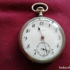Relojes de bolsillo: RELOJ ANTIGUO JUNGHANS. EN FUNCIONAMIENTO. Lote 159791094