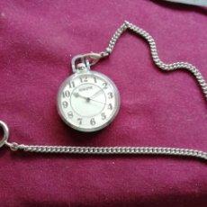 Relojes de bolsillo - Reloj ruso RAKETA. Cadena. En funcionamiento - 159793990