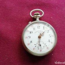 Relojes de bolsillo: ROBUSTO CHEMIN DE FER. SYSTEM ROSKOPF. EN FUNCIONAMIENTO. Lote 159795914