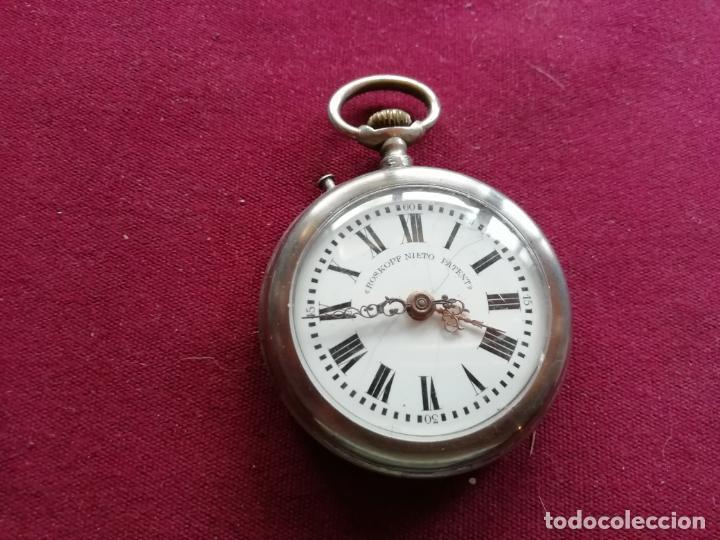 RELOJ ROSKOPF NIETO PATENT. EN FUNCIONAMIENTO (Relojes - Bolsillo Carga Manual)