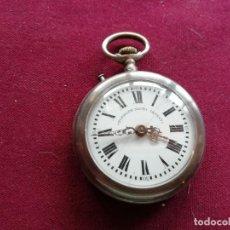 Relojes de bolsillo: RELOJ ROSKOPF NIETO PATENT. EN FUNCIONAMIENTO. Lote 159796074