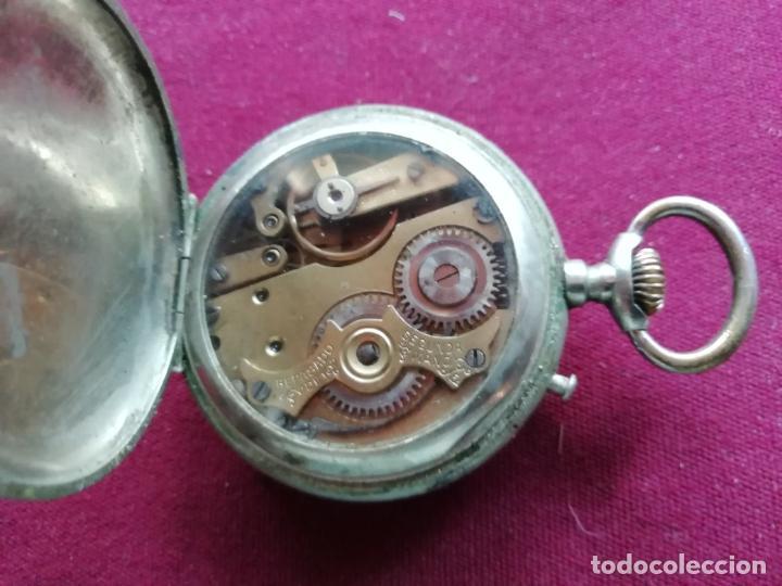 Relojes de bolsillo: Reloj Roskopf Nieto Patent. En funcionamiento - Foto 3 - 159796074