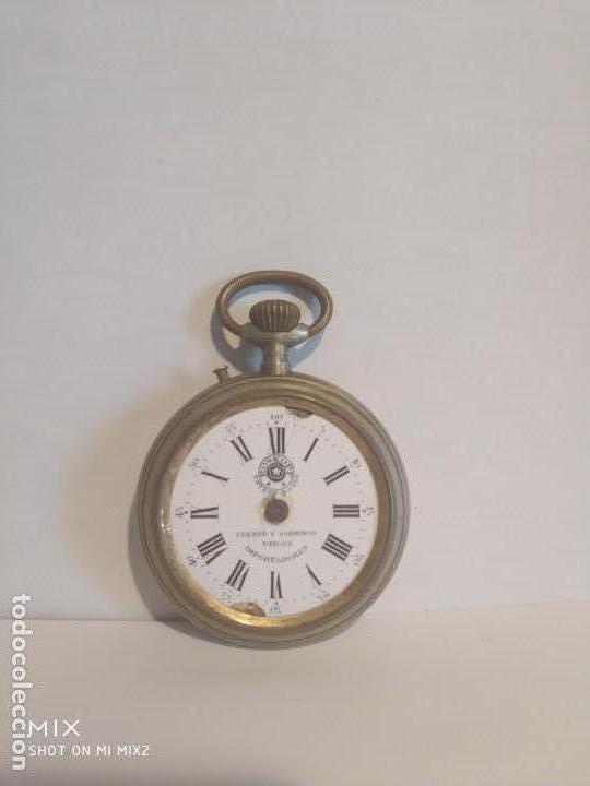 RELOJ CUERVO Y SOBRINOS HABANA DESCACHARRADO (Relojes - Bolsillo Carga Manual)