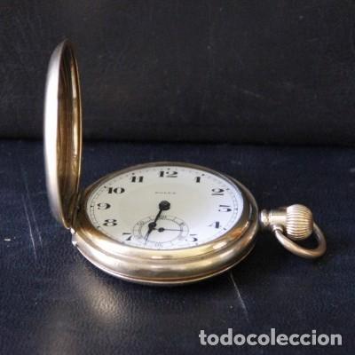 Relojes de bolsillo: ROLEX DE PRINCIPIOS DEL SIGLO XX CHAPADO EN ORO. - Foto 2 - 160627050