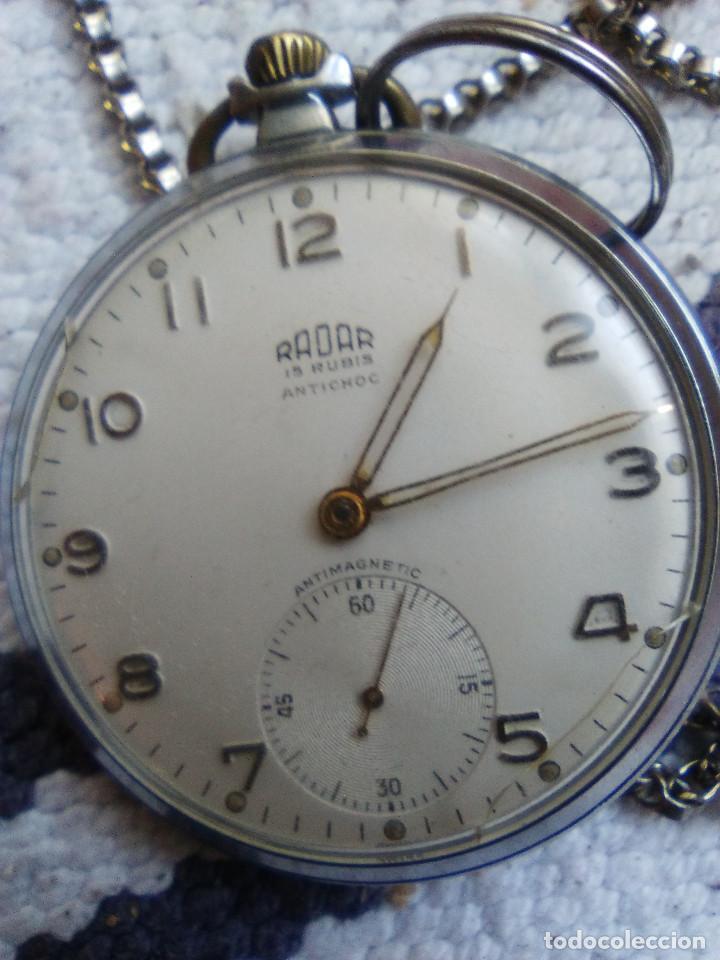 RELOJ DE BOLSILLO MARCA RADAR (Relojes - Bolsillo Carga Manual)