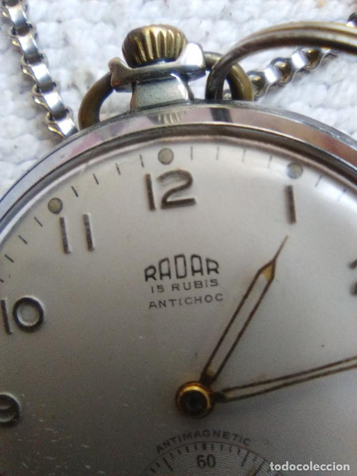 Relojes de bolsillo: RELOJ DE BOLSILLO MARCA RADAR - Foto 2 - 160668762