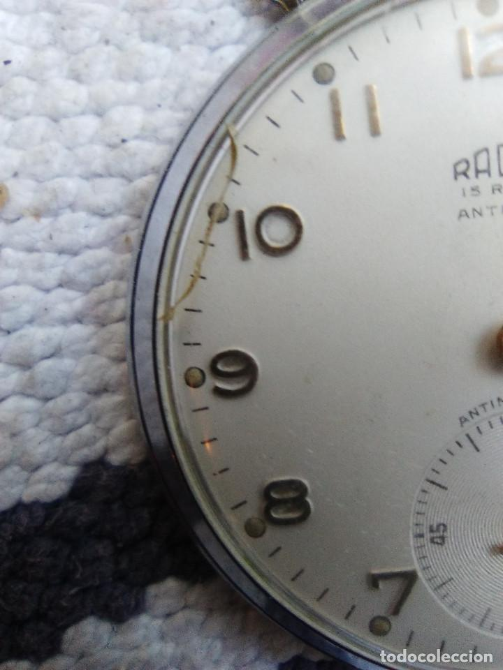Relojes de bolsillo: RELOJ DE BOLSILLO MARCA RADAR - Foto 3 - 160668762