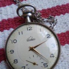 Relojes de bolsillo: RELOJ DE BOLSILLO MARCA CENDEX, MAQUINA TIPO CILINDRO. Lote 160669614