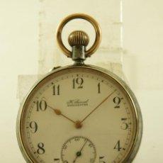 Relojes de bolsillo: RELOJ BOLSILLO H. SAMUEL HIERRO 49.6MM. Lote 160731922