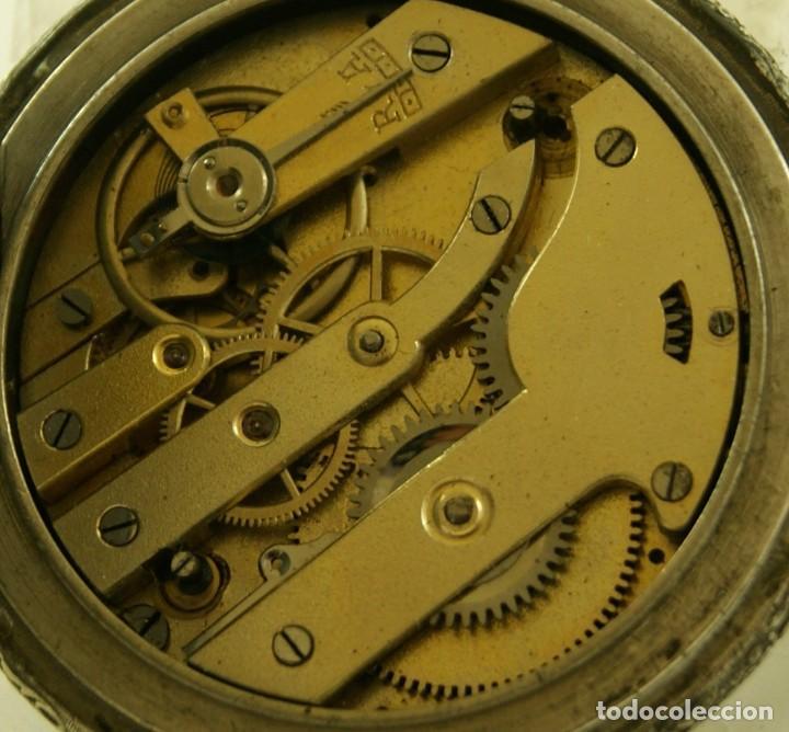 Relojes de bolsillo: RELOJ BOLSILLO CAJA LABRADA PRECIOSA LOUIS BOLSON 52.83MM - Foto 3 - 160733150