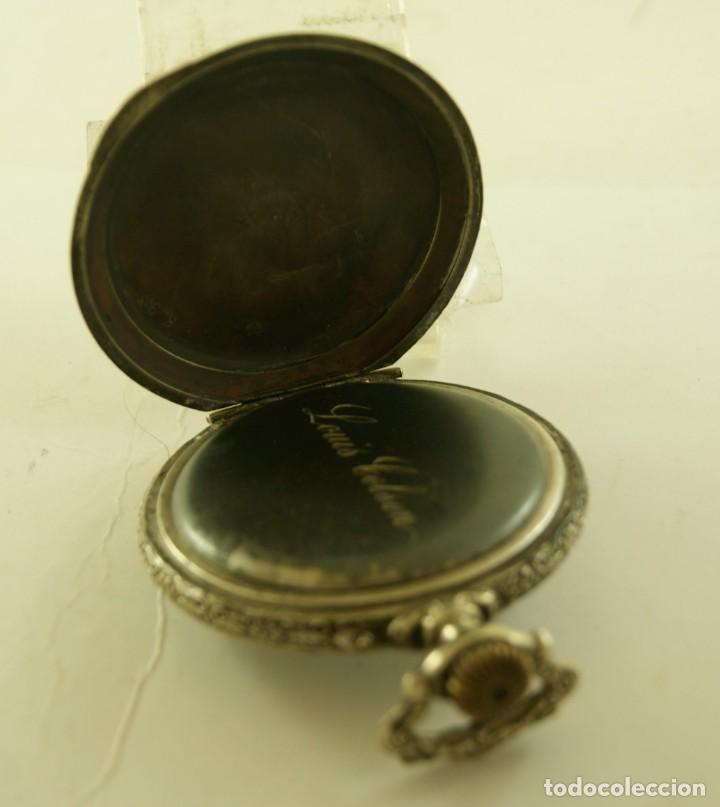 Relojes de bolsillo: RELOJ BOLSILLO CAJA LABRADA PRECIOSA LOUIS BOLSON 52.83MM - Foto 5 - 160733150