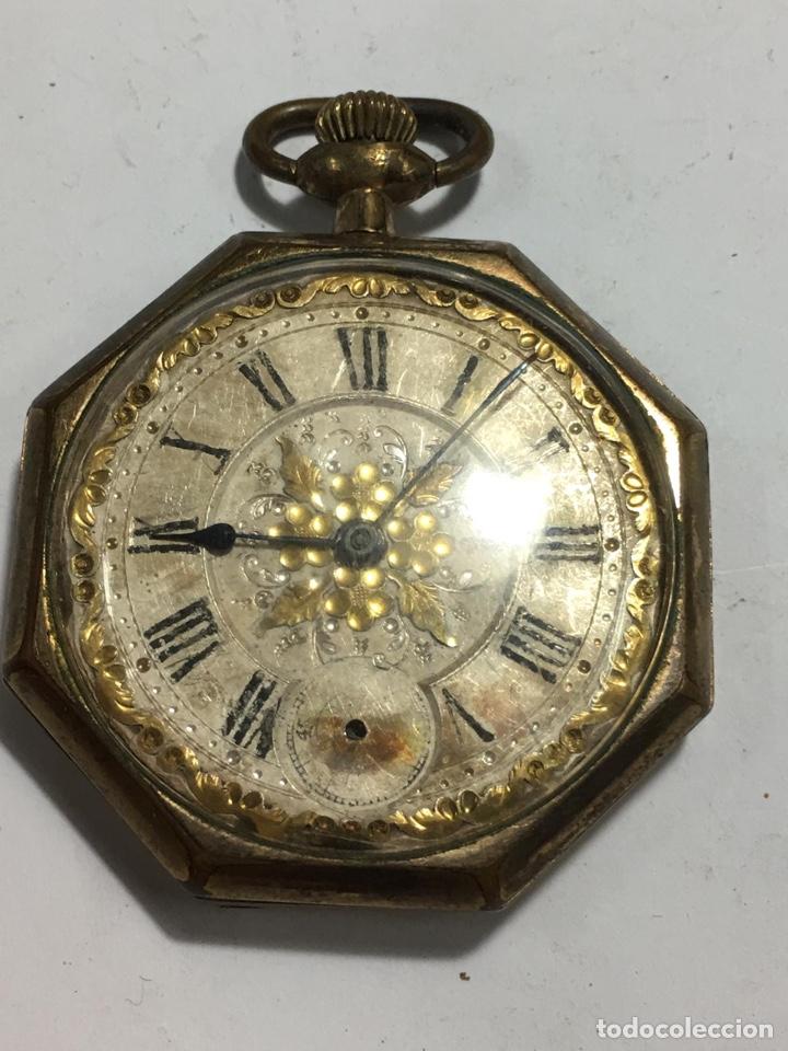 BONITO RELOJ CHAPADO EXAMÍNALE, VER FOTOS (Relojes - Bolsillo Carga Manual)
