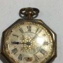 Relojes de bolsillo: BONITO RELOJ CHAPADO EXAMÍNALE, VER FOTOS. Lote 161265262