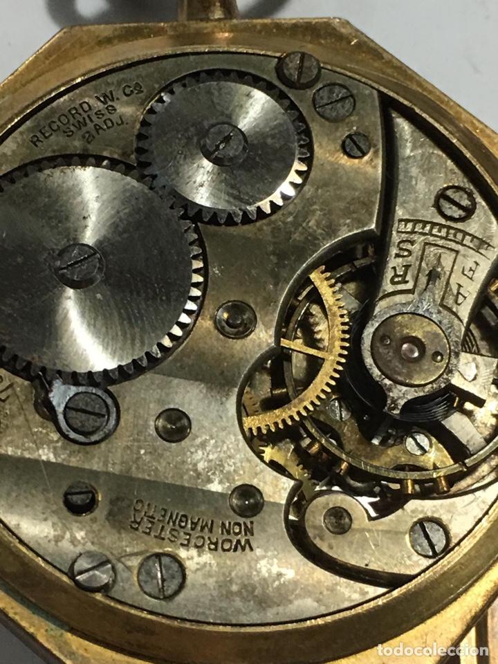 Relojes de bolsillo: Bonito reloj chapado examínale, ver fotos - Foto 3 - 161265262