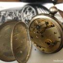 Relojes de bolsillo: RELOJ DE BOLSILLO DE LLAVE MARCA CILÍNDRELO CON TAPA DE CIERRE. Lote 161266890
