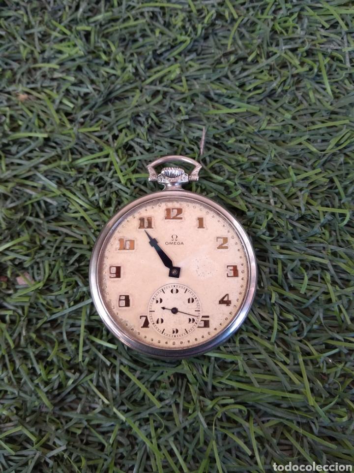 RELOJ DE BOLSILLO OMEGA - CAJA ACERO - LEER DESCRIPCIÓN - (Relojes - Bolsillo Carga Manual)