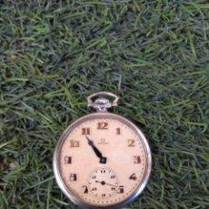 Relojes de bolsillo: RELOJ DE BOLSILLO OMEGA - CAJA ACERO - LEER DESCRIPCIÓN -. Lote 161295241