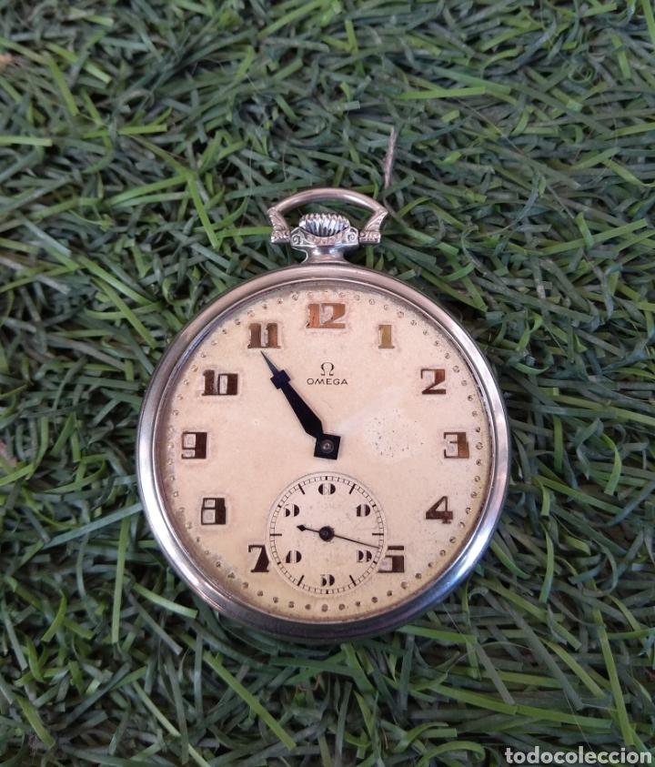 Relojes de bolsillo: Reloj de Bolsillo Omega - Caja Acero - Leer Descripción - - Foto 2 - 161295241