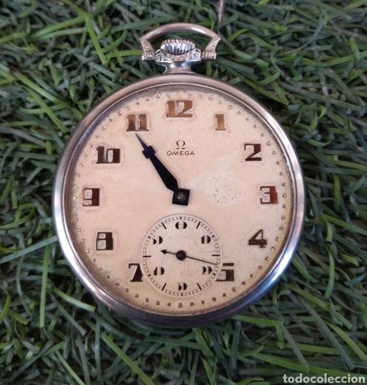 Relojes de bolsillo: Reloj de Bolsillo Omega - Caja Acero - Leer Descripción - - Foto 3 - 161295241