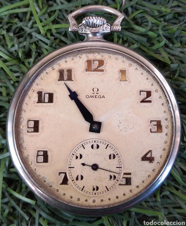 Relojes de bolsillo: Reloj de Bolsillo Omega - Caja Acero - Leer Descripción - - Foto 4 - 161295241
