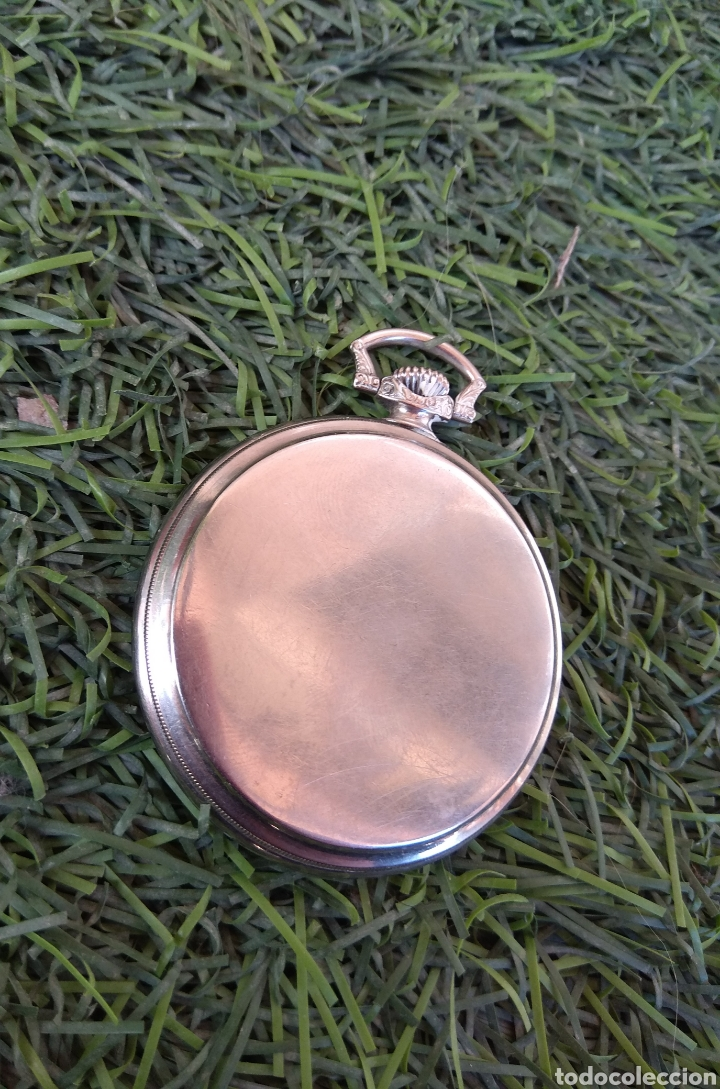 Relojes de bolsillo: Reloj de Bolsillo Omega - Caja Acero - Leer Descripción - - Foto 6 - 161295241