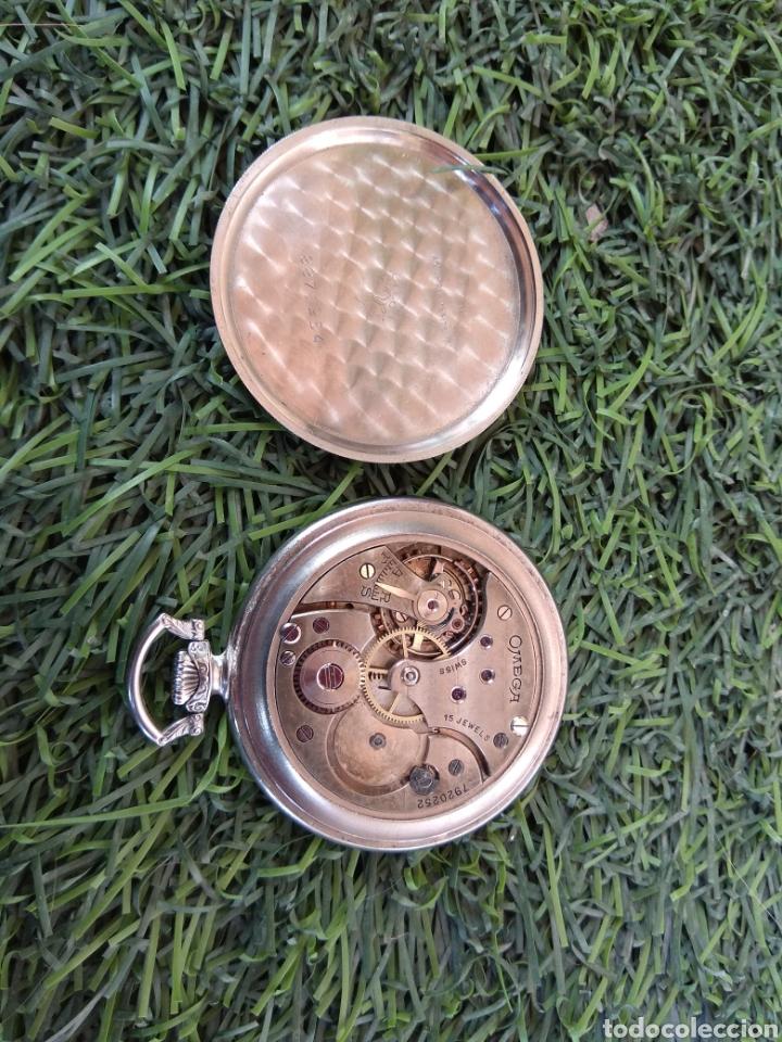 Relojes de bolsillo: Reloj de Bolsillo Omega - Caja Acero - Leer Descripción - - Foto 8 - 161295241