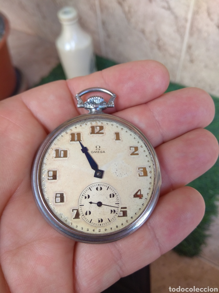 Relojes de bolsillo: Reloj de Bolsillo Omega - Caja Acero - Leer Descripción - - Foto 13 - 161295241