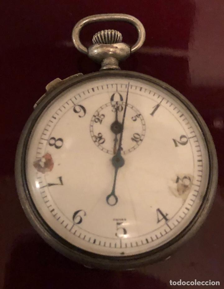RELOJ DE BOLSILLO. ANTIGUO CRONOMETRO SUIZO (Relojes - Bolsillo Carga Manual)