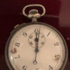 Relojes de bolsillo: RELOJ DE BOLSILLO. ANTIGUO CRONOMETRO SUIZO. Lote 161316016