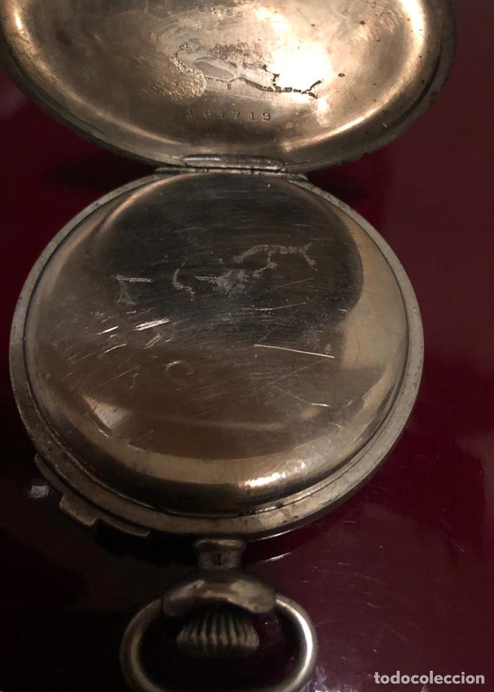 Relojes de bolsillo: Reloj de bolsillo. Antiguo cronometro Suizo - Foto 4 - 161316016
