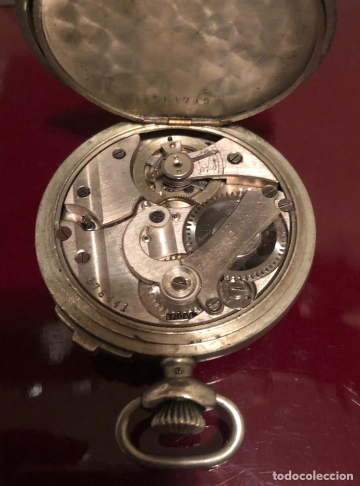 Relojes de bolsillo: Reloj de bolsillo. Antiguo cronometro Suizo - Foto 5 - 161316016