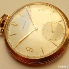 Relojes de bolsillo: LONGINES ORO 14K. Lote 161466034